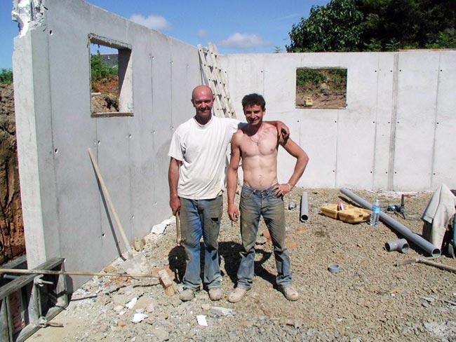Eric gratiet ma on construction neuves for Maison en beton banche